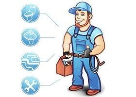 Plumbing, Heating, Drain Cleaning. Мастер.
